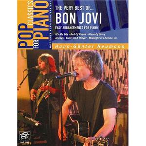 BON JOVI - THE VERY BEST OF EASY PIANO SOLOS