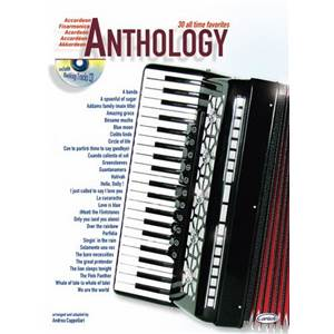 COMPILATION - ACCORDEON ANTHOLOGY 30 ALL TIME FAVORITES VOL.1 + CD