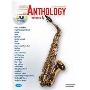 COMPILATION - ANTHOLOGY ALTO SAXOPHONE AND EB INSTRUMENTS VOL.4 + CD