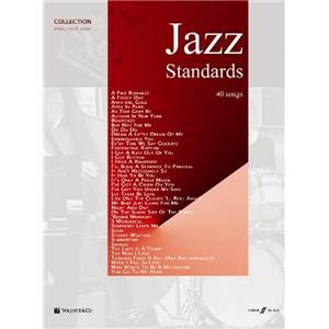 COMPILATION - JAZZ STANDARDS 40 SONGS P/V/G