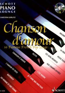 CHANSON D'AMOUR (ARRANGEMENTS PAR GERLITZ CARSTEN) +CD - PIANO