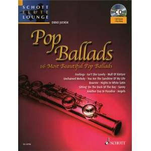 POP BALLADS (ARRANGEMENTS PAR JUCHEM DIRKO) +CD - FLUTE ET PIANO