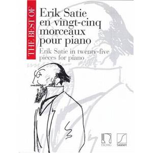 SATIE ERIK - THE BEST OF SATIE VOL.1 (25 PIECES) PIANO