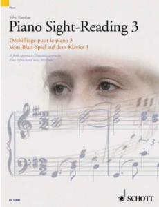KEMBER JOHN - SIGHT-READING (DECHIFFRAGE) VOL.3 - PIANO