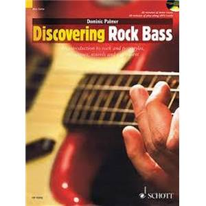 PALMER DOMINIC - DISCOVERING ROCK BASS + CD
