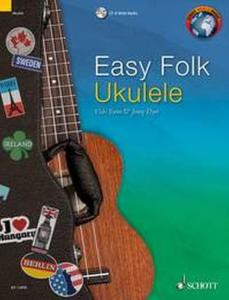 EASY FOLK UKULELE (29 PIECES TRADITIONNELLES) +CD - UKULELE