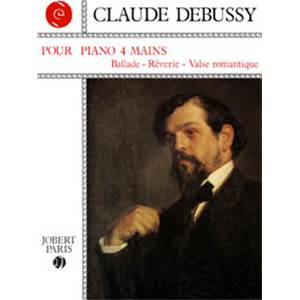 DEBUSSY CLAUDE - POUR LE PIANO 4 MAINS - PIANO A 4 MAINS