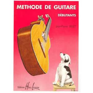 BILLET JEAN PIERRE - METHODE DE GUITARE DEBUTANTS