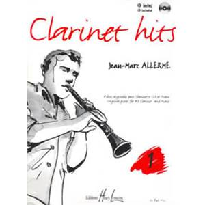 ALLERME JEAN-MARC - CLARINET HITS VOL.1 + CD - CLARINETTE ET PIANO