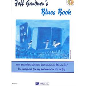 GARDNER JEFF - BLUES VOL.POUR INSTRU. MIB ET SIB + CD