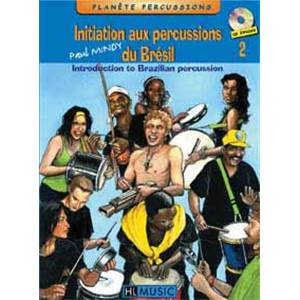 MINDY PAUL - INITIATION AUX PERCUSSIONS DU BRESIL VOL.2 + CD