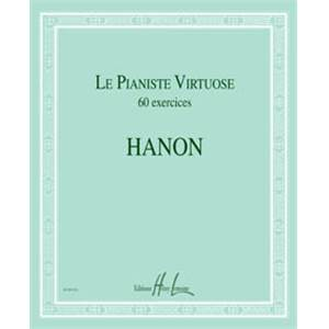 HANON CHARLES LOUIS - LE PIANISTE VIRTUOSE 60 EXERCICES