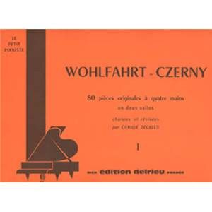 WOHLFAHRT/CZERNY - SUITE N°1 - PIANO A 4 MAINS