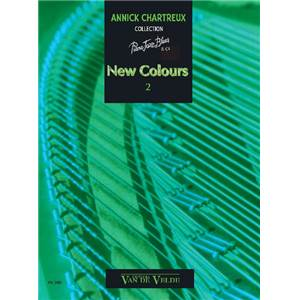 CHARTREUX ANNICK - NEW COLOURS 2 - PIANO