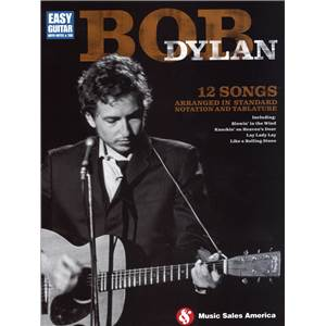 DYLAN BOB - EASY GUITAR TAB.