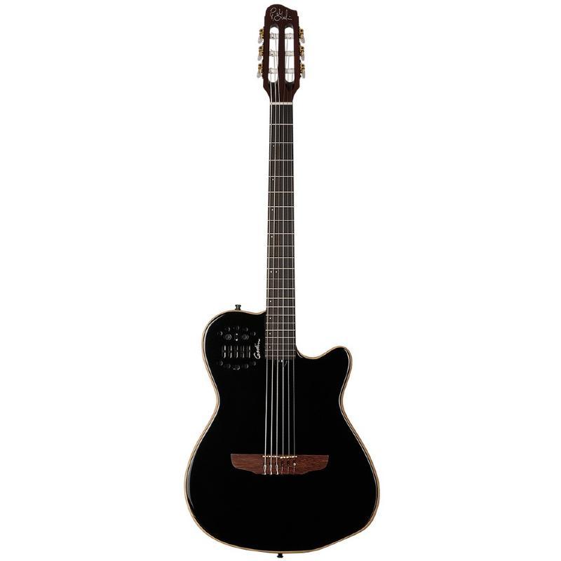 Guitare classique electro acoustique godin acs slim noir for Housse guitare classique