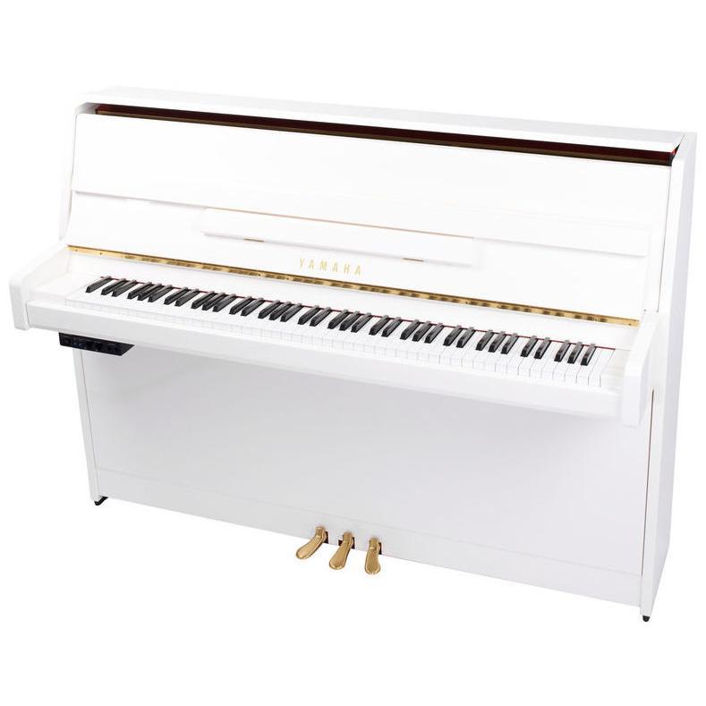 piano droit silent yamaha b1 sg2 pwh paul. Black Bedroom Furniture Sets. Home Design Ideas