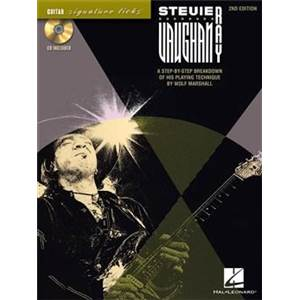 VAUGHAN STEVIE RAY - GUITAR SIGNATURE LICKS 2ND EDITION + CD