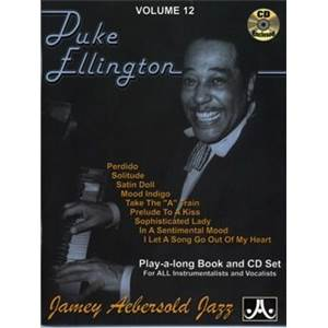 ELLINGTON DUKE - AEBERSOLD 012 9 GREATEST HITS + CD