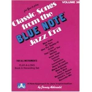 AEBERSOLD JAMEY - VOL. 038 BLUE NOTE + 2CD