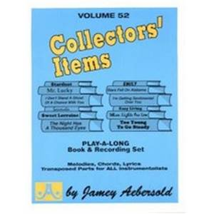 AEBERSOLD JAMEY - VOL. 052 COLLECTORS' ITEMS + CD