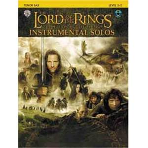 SHORE HOWARD - LORD OF THE RINGS INSTRUMENTAL SOLOS TENOR SAXOPHONE + CD