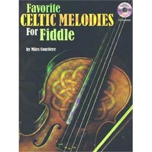 COURTIERE MILES - FAVORITE CELTIC MELODIES FOR FIDDLE + CD
