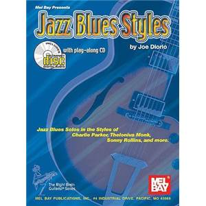 DIORIO JOE - JAZZ BLUES STYLES TAB. + CD