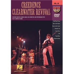 CREEDENCE CLEARWATER REVIVAL - GUITAR PLAY ALONG DVD VOL.20