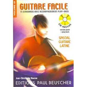 HOARAU JC - GUITARE FACILE VOL.5 SPECIAL LATIN + CD - GUITARE