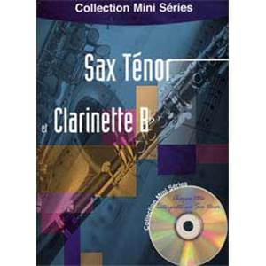 COMPILATION - MINI SERIES SAX TENOR ET CLARINETTE BB + CD