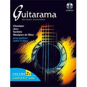 GUILLEM M/KHALIFA/JANIA - GUITARAMA VOL.2A + CD