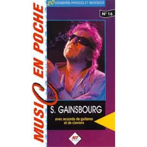 GAINSBOURG SERGE - MUSIC EN POCHE NO.16
