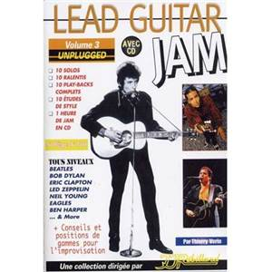 VERIN THIERRY - LEAD GUITAR JAM VOL.3 UNPLUGGED + CD