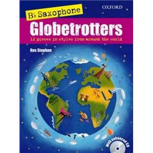 COMPILATION - SAXOPHONE GLOBETROTTERS (B FLAT EDITION) + CD SAXOPHONE SIB /PIANO