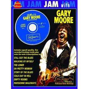 MOORE GARY - JAM WITH GUITAR TAB. + CD
