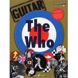 WHO THE - AUTHENTIC PLAY ALONG GUITAR + CD