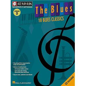 COMPILATION - JAZZ PLAY ALONG VOL.003 THE BLUES + CD