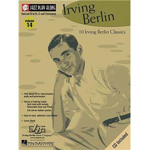 BERLIN IRVING - JAZZ PLAY ALONG VOL.014 + CD
