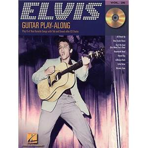 PRESLEY ELVIS - GUITAR PLAY ALONG VOL.026 + CD
