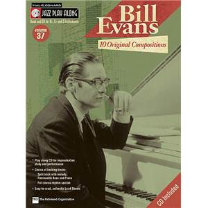 EVANS BILL - JAZZ PLAY ALONG VOL.037 + CD