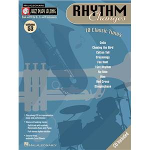 COMPILATION - JAZZ PLAY ALONG VOL.053 RHYTHM CHANGES + CD