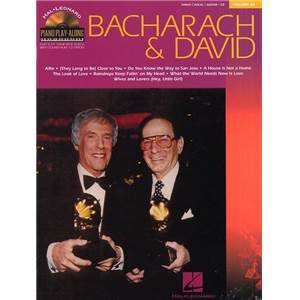 BACHARACH / DAVID - PIANO PLAY ALONG VOL.032 + CD