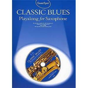 COMPILATION - GUEST SPOT CLASSIC BLUES SAX ALTO + CD