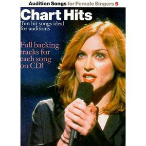 COMPILATION - AUDITION SONGS FOR FEMALE SINGERS : CHART HITS + CD