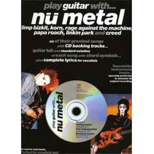 COMPILATION - NU METAL KORN, RAGE AGAINST THE MACHINE PLAY GUITAR WITH + CD