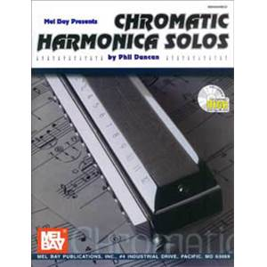 DUNCAN PHIL - CHROMATIC HARMONICA SOLOS + CD