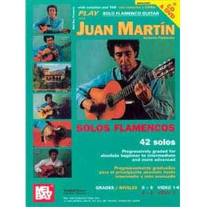 MARTIN JUAN - PLAY FLAMENCO GUITAR VOL.1 + DVD + CD