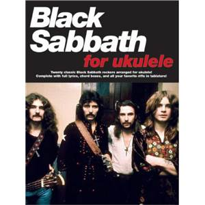 BLACK SABBATH - FOR UKULELE