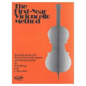 BENOY/BURROWES - FIRST YEAR VIOLONCELLO METHOD